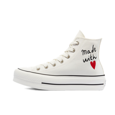 Converse Chuck Taylor All Star High Top Platform Valentine's Day 'White' productafbeelding