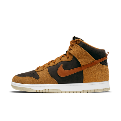 Nike Dunk High Premium 'Dark Curry' productafbeelding