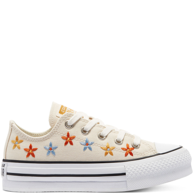 Spring Flowers EVA Platform Chuck Taylor All Star Low Top productafbeelding