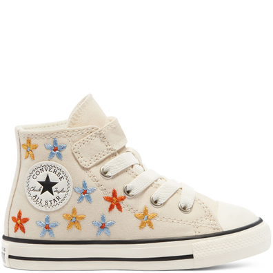 Spring Flowers Easy-On EVA Platform Chuck Taylor All Star High Top productafbeelding