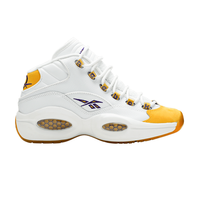 Reebok Question Mid Yellow Toe (GS) productafbeelding