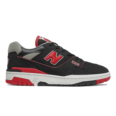 New Balance 550 Black Red productafbeelding