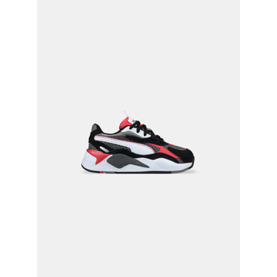 Puma RS-X³ Twill AirMesh Castlerock Poppy Red PS productafbeelding