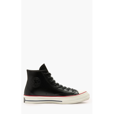 Converse Chuck 70 Classic High Top Leather Black productafbeelding