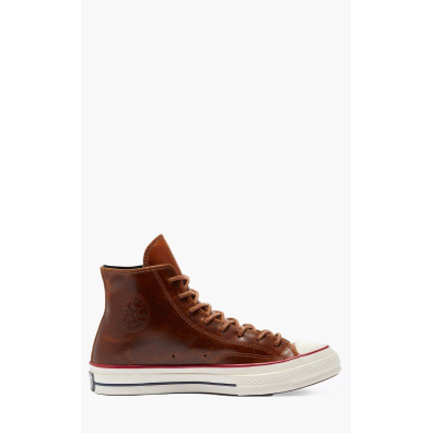 Converse Chuck 70 Classic High Top Leather Brown productafbeelding