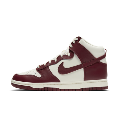 Nike WMNS Dunk High 'Team Red' productafbeelding