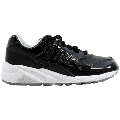 New Balance 580 Black Patent Leather (W) productafbeelding