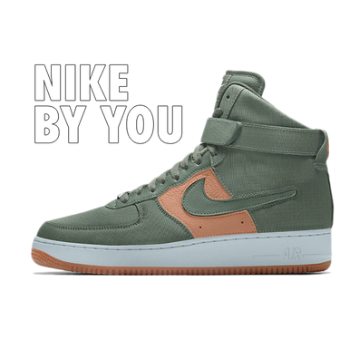 Nike Air Force 1/1 High - By You productafbeelding
