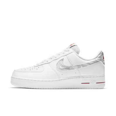 Nike Air Force 1 'Topography' - Red productafbeelding