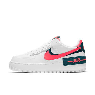 Nike Air Force 1 Shadow 'White/Solar Red' productafbeelding