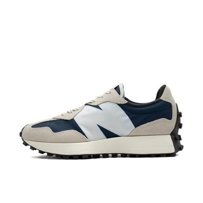 New Balance 327 Mens Grey / Blue Trainers productafbeelding