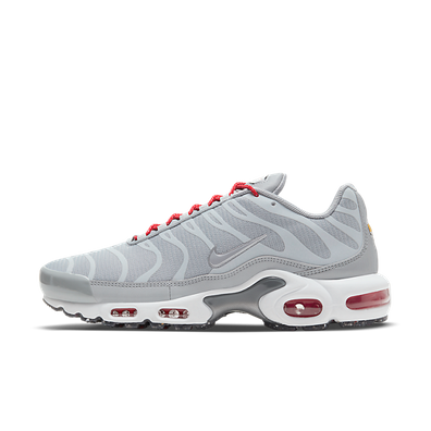 Nike Air Max Plus Grey Red productafbeelding
