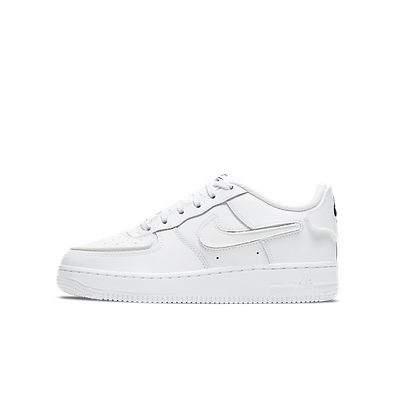 """Nike AF1/1 (GS) """"WHITE"""" productafbeelding"""
