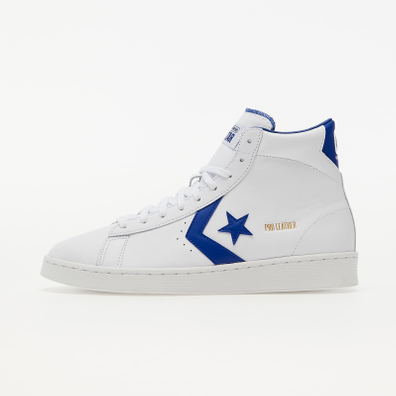 Converse Pro Leather White/ Rush Blue/ White productafbeelding