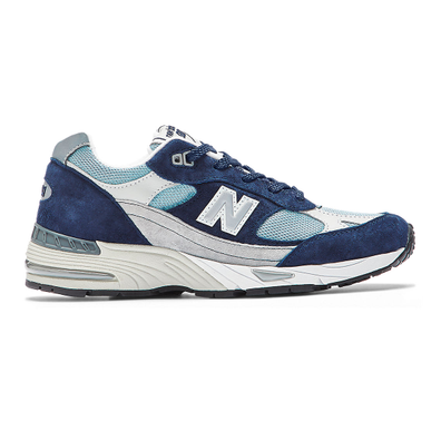 New Balance Made in UK 991 - Navy with Pale Blue productafbeelding