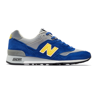 New Balance Made in UK 577 - Blue with Yellow productafbeelding