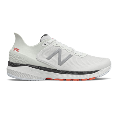 New Balance Fresh Foam 860v11 - White with Ghost Pepper productafbeelding