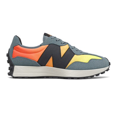 New Balance 327 - Citrus Punch with Cyclone productafbeelding