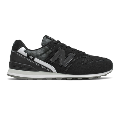 New Balance 996 - Black with White productafbeelding