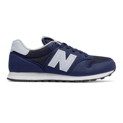 New Balance 500 Microfiber - Navy with Light Blue productafbeelding