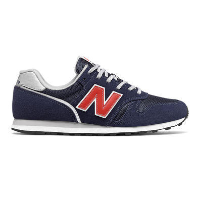 New Balance 373v2 - Navy with Red productafbeelding
