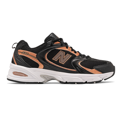 New Balance 530 - Black with Rose Gold productafbeelding