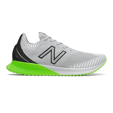 New Balance FuelCell Echo - Light Aluminum with Black & Energy Lime productafbeelding