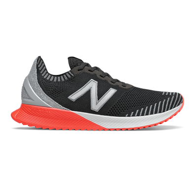 New Balance FuelCell Echo - Black with Steel & Neo Flame productafbeelding