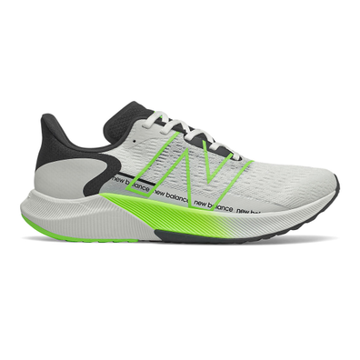 New Balance FuelCell Propel v2 - White with Energy Lime productafbeelding