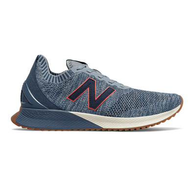 New Balance FuelCell Echo Heritage - Reflection with Stone Blue & Neo Flame productafbeelding