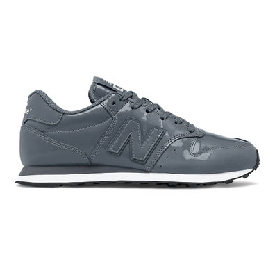 New Balance 500 Classic - Lead with Black productafbeelding
