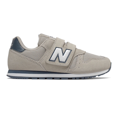 New Balance 373 Hook and Loop - Moonbeam with Stone Blue productafbeelding