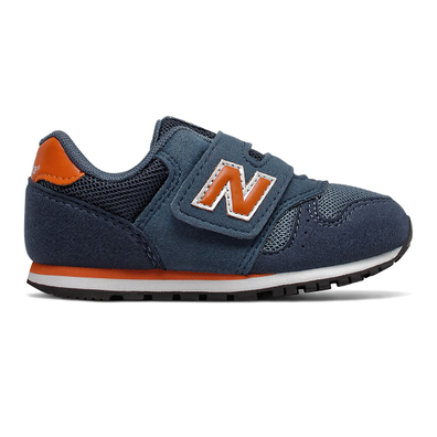 New Balance 373 Hook and Loop - Stone Blue with Vintage Orange productafbeelding