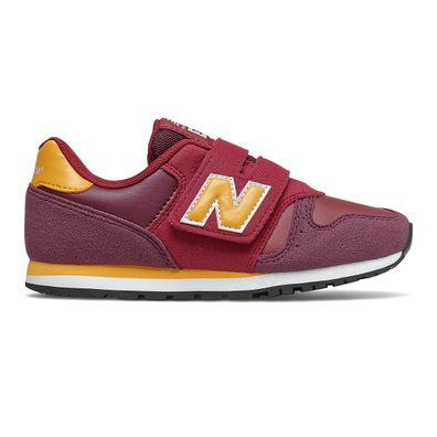 New Balance 373 Hook and Loop - NB Burgundy with NB Scarlet productafbeelding