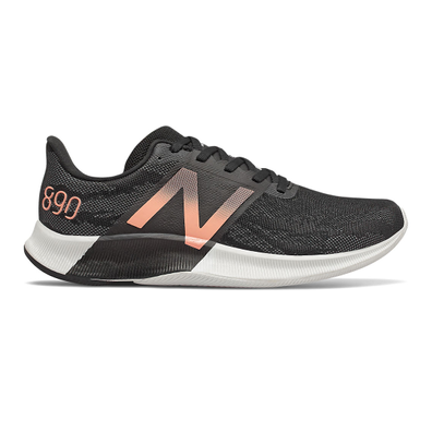 New Balance FuelCell 890v8 - Black with Thunder & Ginger Pink productafbeelding