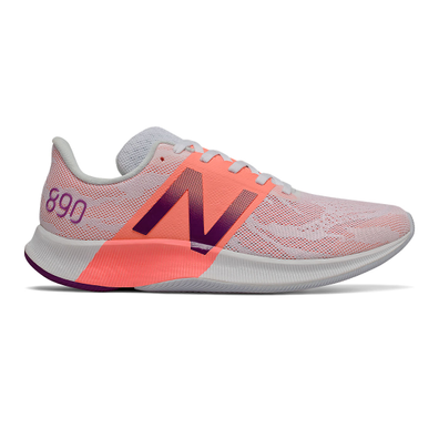 New Balance FuelCell 890v8 - Moon Dust with Ginger Pink & Plum productafbeelding