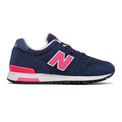 565 New Balance - Navy with Pink & White productafbeelding