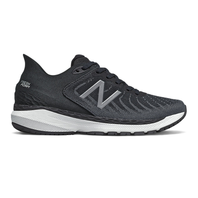 New Balance Fresh Foam 860v11 - Black with White & Lead productafbeelding