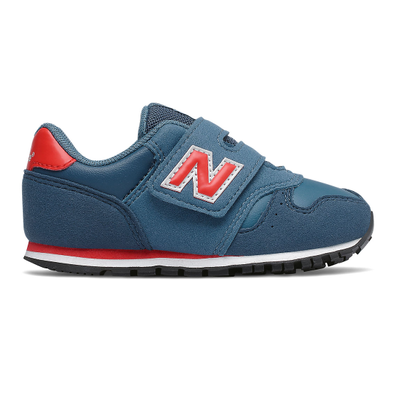 New Balance 373 Hook and Loop - NB Dark Blue with NB Light Blue productafbeelding