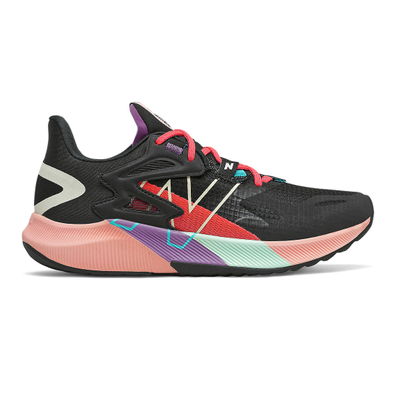 New Balance FuelCell Propel RMX - Black with Vivid Coral productafbeelding