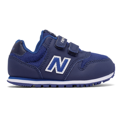 New Balance 500 Hook and Loop - Navy with Blue productafbeelding
