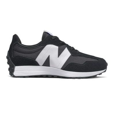 New Balance 327 - Black with White productafbeelding