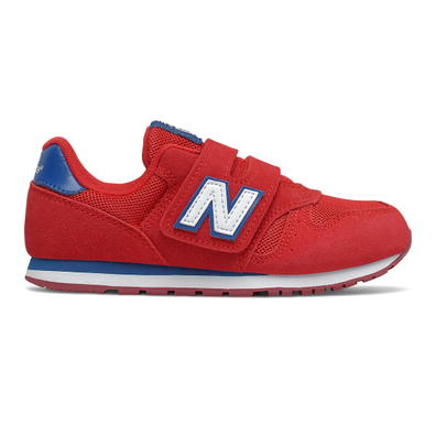 New Balance 373 Hook & Loop - Team Red with Captain Blue productafbeelding