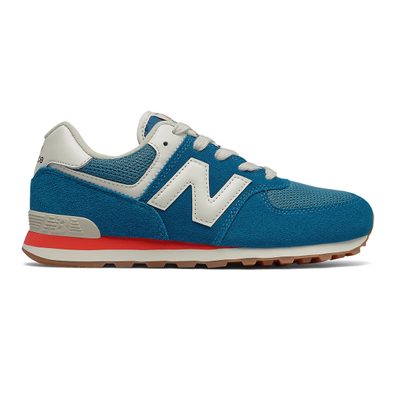 New Balance 574 - Light Rogue Wave with Ghost Pepper productafbeelding
