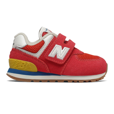 New Balance 574 - Team Red with Light Rogue Wave productafbeelding