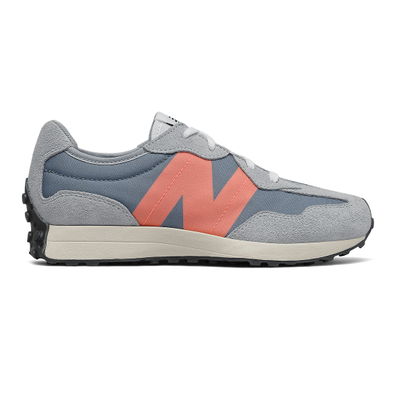 New Balance 327 - Ocean Grey with Paradise Pink productafbeelding