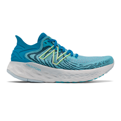New Balance Fresh Foam 1080v11 - Virtual Sky with Bleached Lime Glo productafbeelding