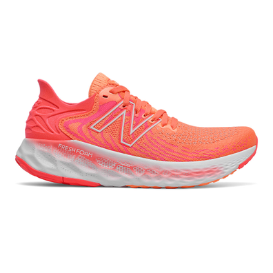 New Balance Fresh Foam 1080v11 - Citrus with Vivid Coral productafbeelding