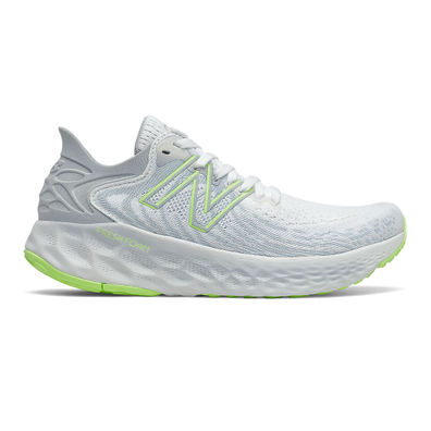 New Balance Fresh Foam 1080v11 - White with Bleached Lime Glo productafbeelding