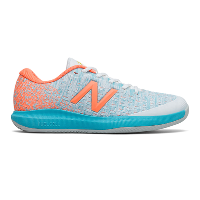 New Balance FuelCell 996v4 - White with Citrus productafbeelding